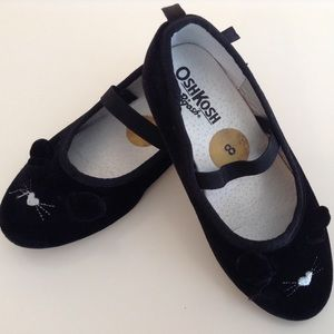 OshKosh Velvet Mouse Flats for toodlers